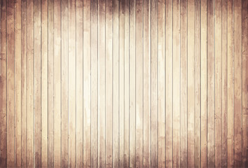 Light wooden texture with vertical planks  floor, table, wall