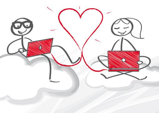Online Partnersuche - verlieben im Internet