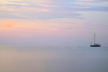 Alba al mare