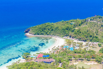 Poster Afrique du Sud aerial view of Boracay island, Philippines