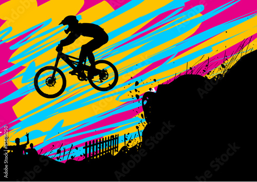 Abstract mountain bike background stock image and royalty free abstract mountain bike background voltagebd Image collections