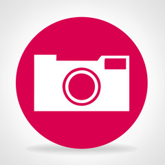 Camera symbol vector illustration