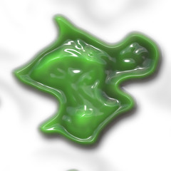 Slime generated texture