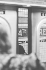 Subway Scene in New York
