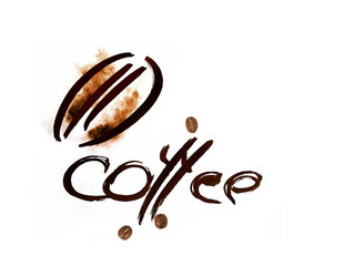 coffee abstract symbol