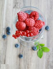 Fresh tasty berries