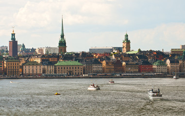 The centre of Stockholm
