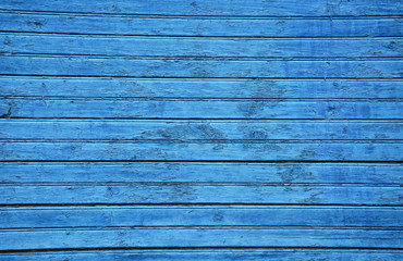 Blue wood. Picture can be used as a background