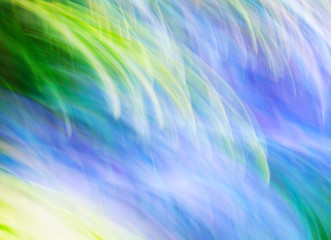 Photo art, Colorful light streaks abstract background in blue