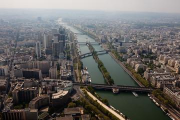 Paris aerial view