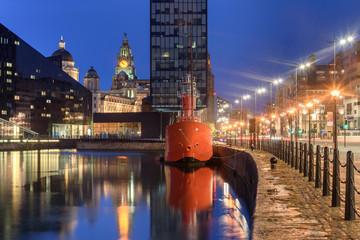Wall Mural - Waterfront Liverpool UK