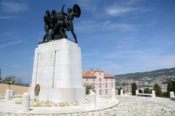 Denkmal für die Gefallenen in Triest