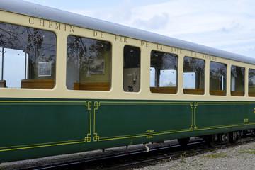 train touristique , Le Crotoy, Somme, 80
