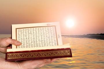 Quran, book, ramadan.