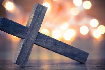 Wooden Christian Cross