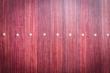 Wall Mural - Wood door with metal stud