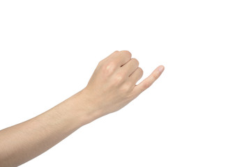 hand of promise gesture