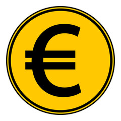Euro button.