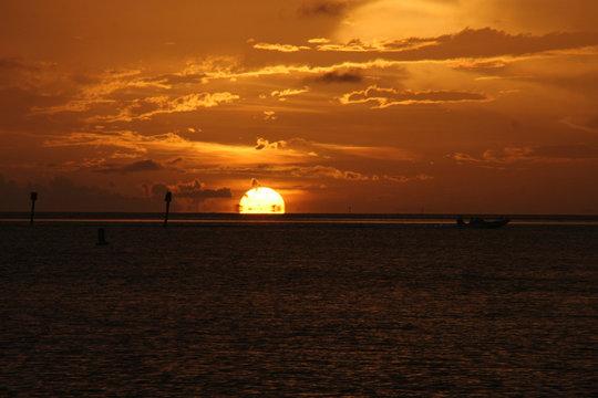 Sonnenuntergang Marathon / Florida Keys / USA