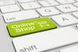 Tastatur - Online Shop - Grün