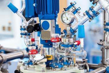 Basic Glass Reactor system for Pilot Plants