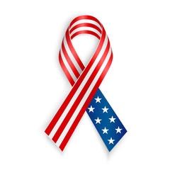 American Flag Ribbon