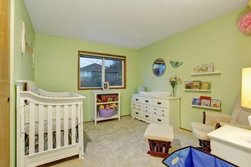 Decorative kids room.