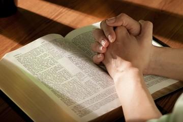 Praying, Bible, Child.