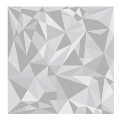 grey polygon background