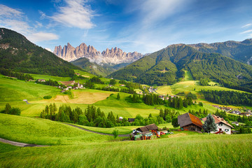 Dolomites alps, Mountain - Val di Funes Wall mural