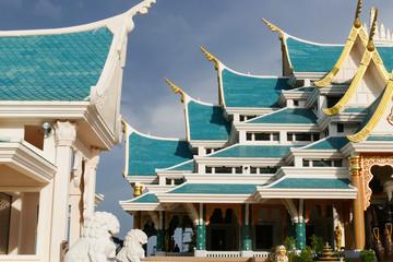 beautiful architecture of buddhist church