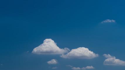 Beautiful cloud on blue sky