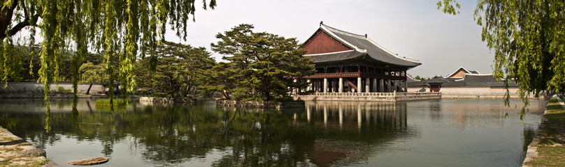 Gyeonghoeru Pavilion of Gyeongbokgung Palace, Seoul, South Korea