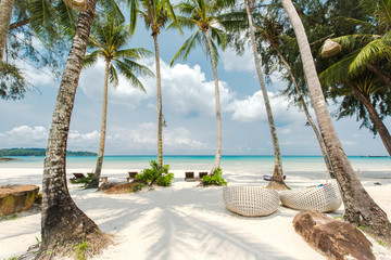 Papiers peints Plage Tropical beach landscape at Koh Kood islandThailand