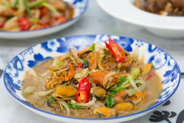 local food of Phuket in restaurant