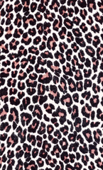 High resolution fabric background of a wild animal print
