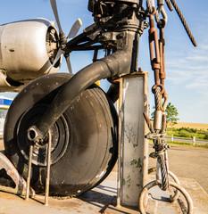 Bugfahrwerk DDR Flugzeug