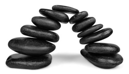 Stone, Bridge, Balance.