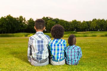 Three nice children.