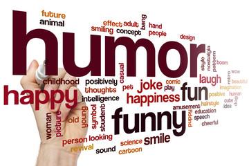 Humor word cloud