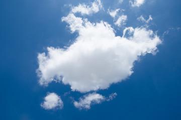 Cloud Against The Blue Sky