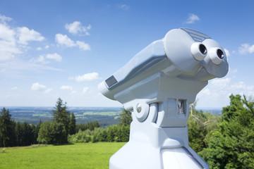 binoculars Hoher Peissenberg