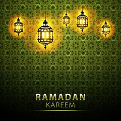 traditional lantern Ramadan Kareem art beautiful