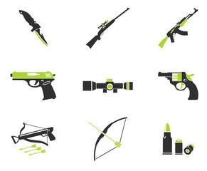 Weapon symbols