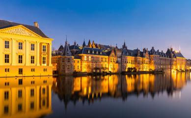 Aluminium Prints City on the water Natherlands Parliament Hague