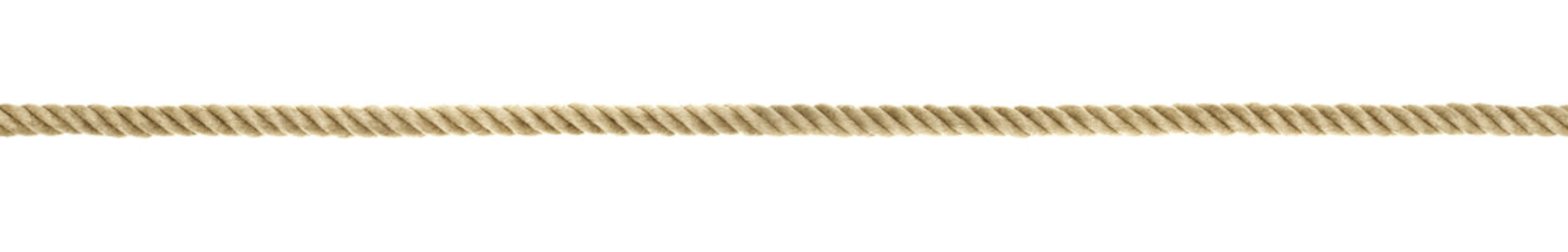 Seil Detail Querformat ohne Knoten