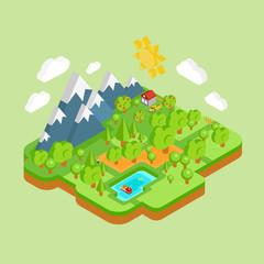 Environment Friendly Natural Landscape