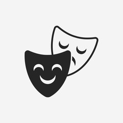 opera mask icon