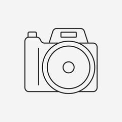 camera line icon