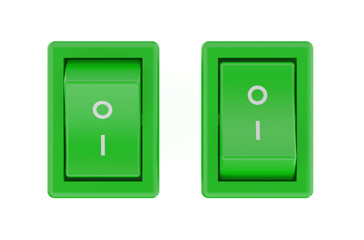 two green  switch